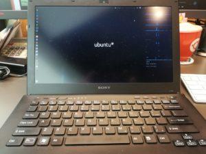 図7. ubuntu 16.04LTS起動画面