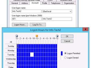 ドメインユーザを強制ログオフ
