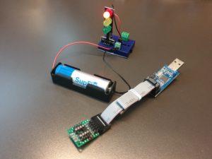 図1.USBASPと部品構成