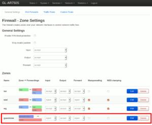 図7.Firewall Zones guestzone削除