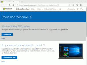 図01.Download Windows10 ページ
