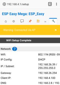 図5.ESP Easy WiFi初期設定