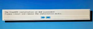 図6.Installation Success