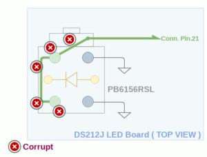 図6.DS212J LEDboard Corruption