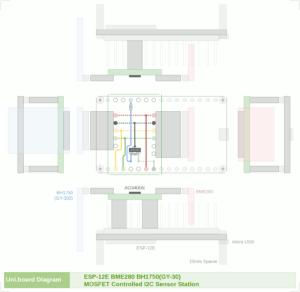 図3.ユニバーサル基板回路図