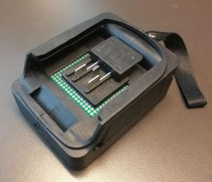 図10.マキタバッテリ互換USBアダプタ10.8V版完成