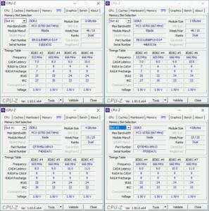 図08.CPU-ZのRAM情報比較