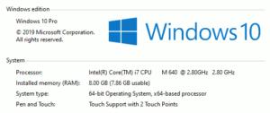 図21.Windows10もi7を認識