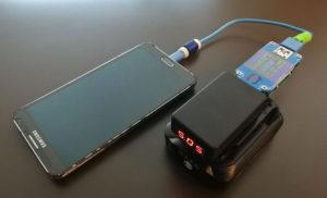図12.スマートフォン充電中