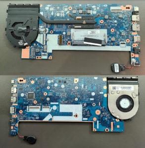 図5.システムボード表裏