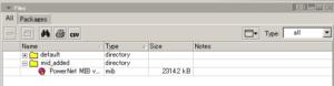 図05.DudeクライアントのFiles機能で転送されたファイルを視認