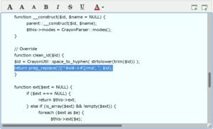 図13.WebベースFTP機能上でPHP修正