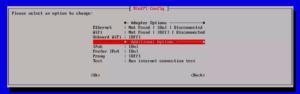 図14.Network Options Adpters
