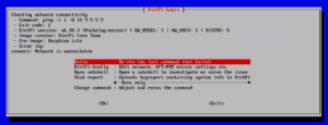 図06.Network Unreachableで中断