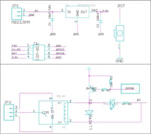 図07.ESP-01S Relay V1.0回路図