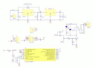 図03.LC Tech版ESP-01Sリレーモジュール回路図
