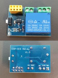 図06.ESP-01S Relay V1.0基板