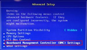 図04.BIOS Advanced Setup