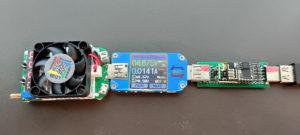 図12.ユニバーサル基板試作負荷試験の様子