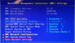 図05.BIOS BMC Settings