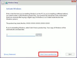 図06.Windows Setup Activate Windows