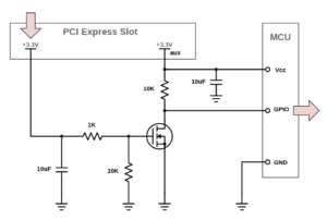図3.PCIe Power-On Detector回路図