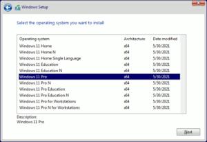 図07.Windows Setup Select OS