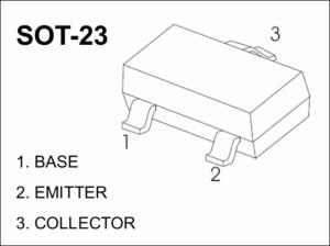図2.S8050 SOT-23 Pinout
