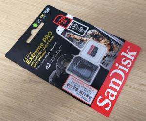 図01.SanDisk Extreme PRO SDXC UHS-I 128GB