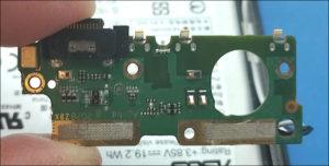 図13.Zenfone7 インターフェイスボード裏