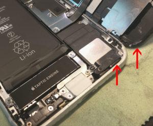 図03.iPhone SE2 微少浸水の痕跡