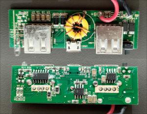 図4.MB-OP80基板表裏